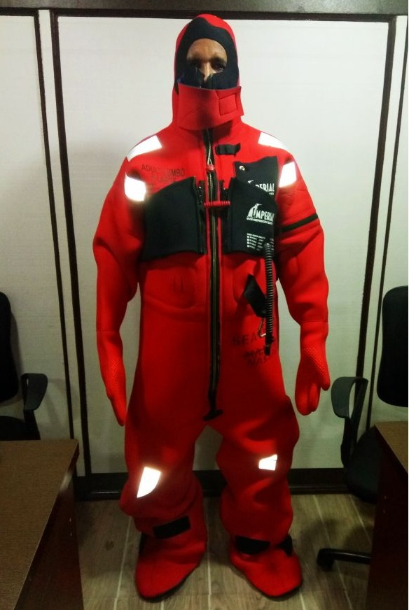 Immersion Suit -Sea Survival