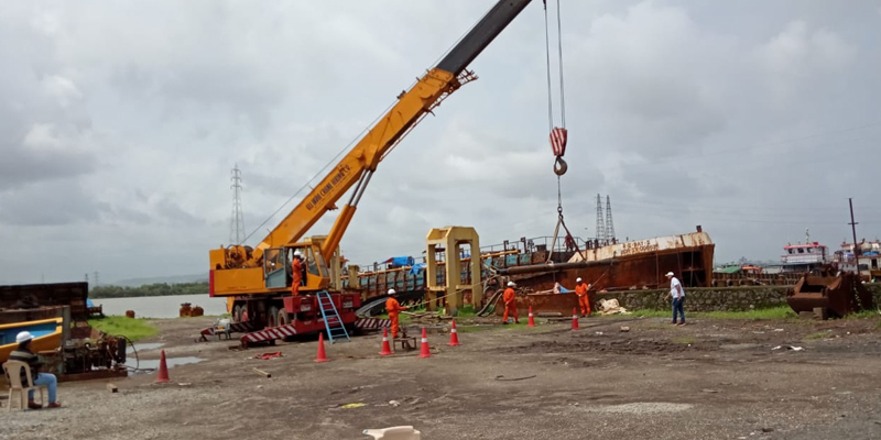 Crane Operator Test for ONGC selection